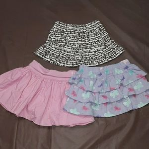 Bundle of 3 girls 18m scooter skirts, cute!!!